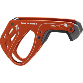 Mammut Smart 2.0 Dispositivo di assicurazione arrampicata, dark orange